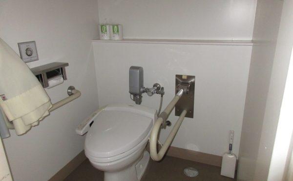 共有のトイレになります