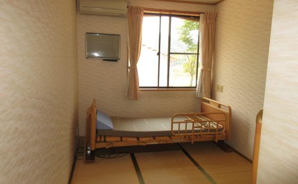 お部屋にお好みに合わせて畳を引くことも可能です。