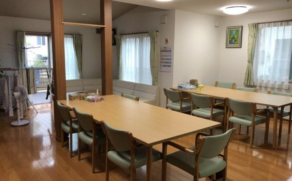 共同の食堂スペース。広さも十分です。