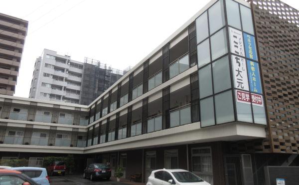 ここち大元 住宅型有料老人ホーム 岡山市 施設外観