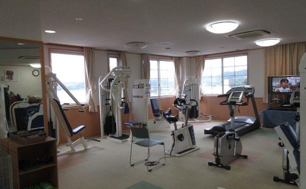 施設内に併設されている健康増進センターです
