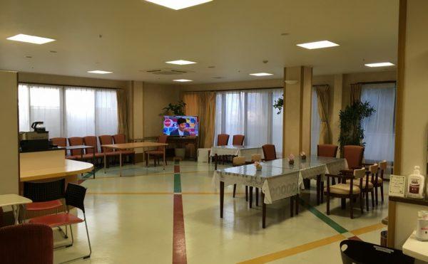 食事スペースの写真。