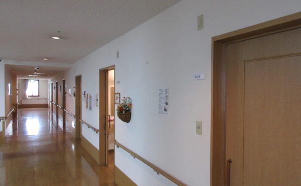 お部屋に続く廊下