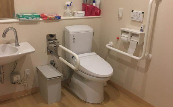 デイサービス内にあるトイレ