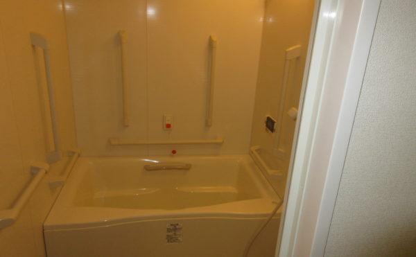 お風呂が付いている施設は珍しいです