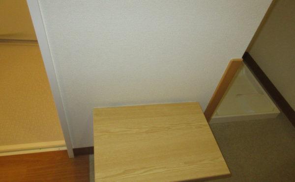 居室にある収納できる椅子