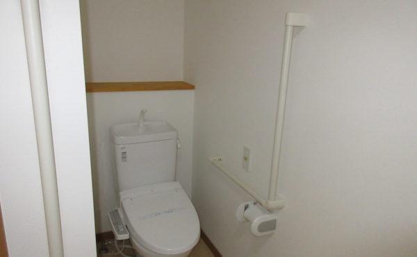 トイレには緊急通報装置が付いています