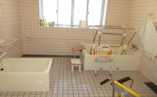 一般浴写真。他にも機械浴があります。