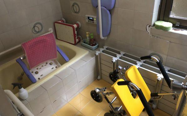 一般浴の設備。機械浴はありません。