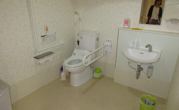 共有のトイレ