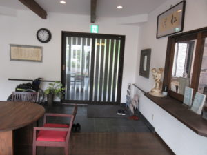 倉敷市 住宅型有料老人ホーム 松月 玄関まわり
