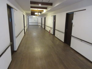 倉敷市 住宅型有料老人ホーム  松月 廊下