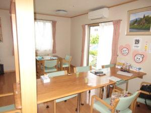 岡山市 住宅型有料老人ホーム 明日香 リビング