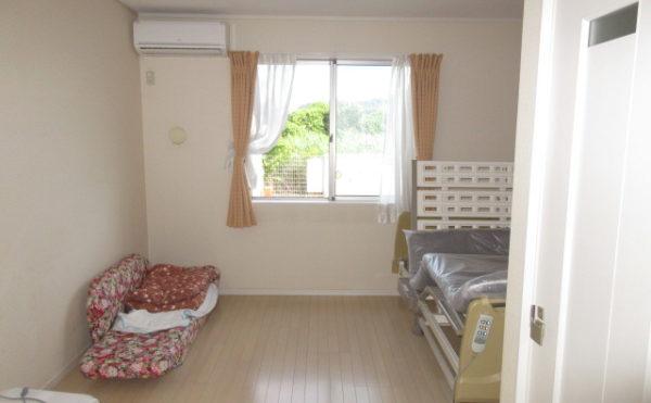 居室の引きの写真になります。