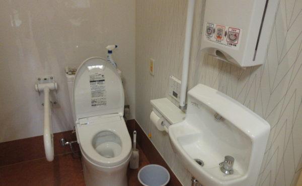 トイレは居室には付いていませんが間口も広く便利です
