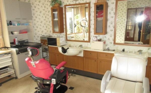 理美容室もあります。