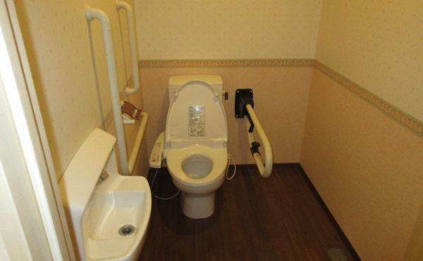 1人部屋のトイレ