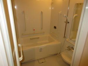 岡山市 サービス付き高齢者向け住宅 そんぽの家東古松S 居室内のお風呂